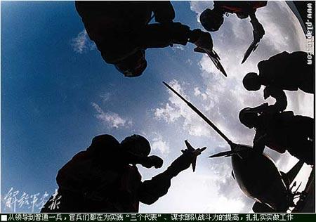 海军航空兵飞行团装备飞豹战机战斗力强(组图)