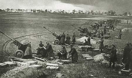 二战时期苏联红军压制火炮家族