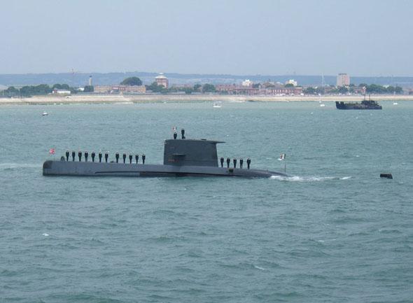 图文:意大利海军扫罗级柴电潜艇