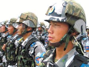 中俄联合军事演习中勇创第一的三名中国士兵