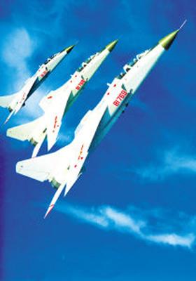 飞豹战机在潜艇协同下发射新型空舰导弹(组图)