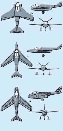 纳粹末日科技:MeP.1101系列战机揭秘(组图2)