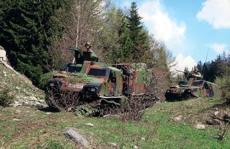 德国陆军订购81辆Bv206S全地形车(图)