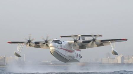 日本海上自卫队订购14架US-2水上飞机(组图)