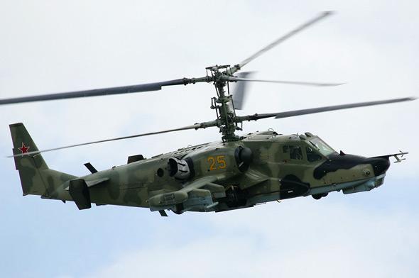 俄空军明年装备卡-50黑鲨武装直升机(附图)
