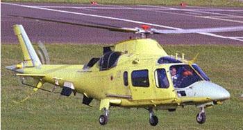 南非空军接收首批4架A109LUH直升机(附图)