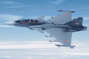 """南非空军首架""""鹰狮""""多用途战斗机出厂(附图)"""