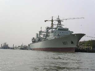 中国巴基斯坦海军首次在阿拉伯海举行演习(图)