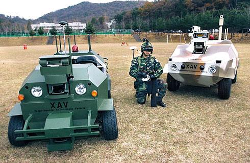 韩国军队将迎来机器人武器时代(附图)