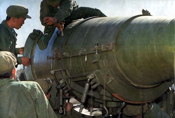 二炮部队超期服役导弹延寿飞行试验成功(附图)