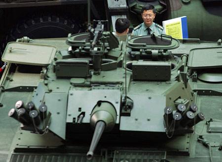 台湾欲与大陆在装甲车制造领域一比高低(图)