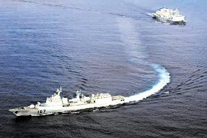中国军舰出访:水兵感受远航生活五个新变化