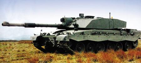 """英国""""挑战者""""坦克被逼挑战自己(组图)"""