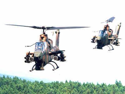 日本陆航正在发展空中机动旅