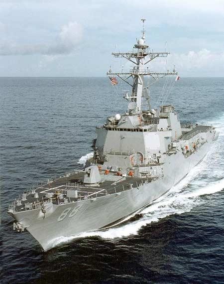美军现役最新的宙斯盾导弹驱逐舰