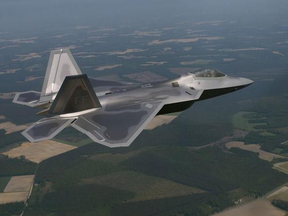 洛-马明年将为美空军生产24架F-22战机(附图)