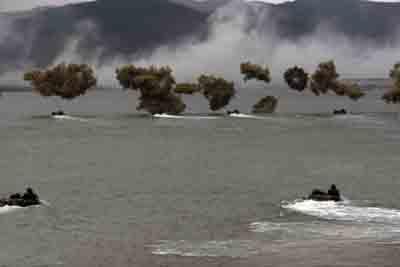 战略评论:美日夺岛演习对中国安全的影响(图)