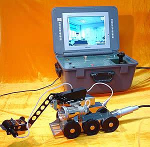 中国科学院研发成功水下异物打捞机器人(图)