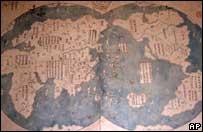 真伪待考罕见地图或能证明郑和首先发现美洲(图)