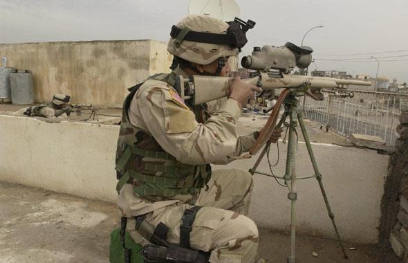 美军影子狙击小组伊拉克作战秘闻(附图)