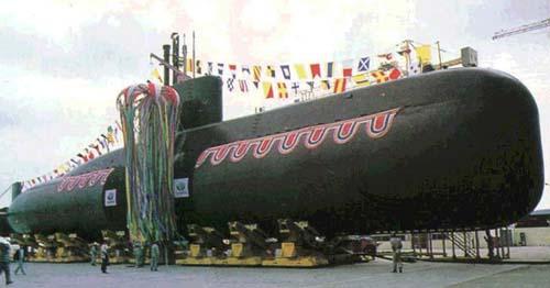 韩国海军2020年将服役新型3500吨级潜艇(附图)