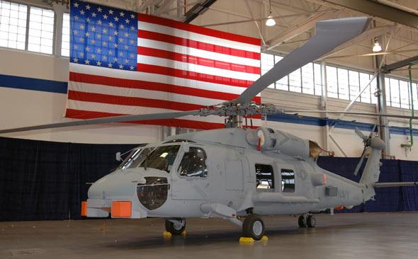 美国海军将采购254架新型MH-60R直升机(附图)
