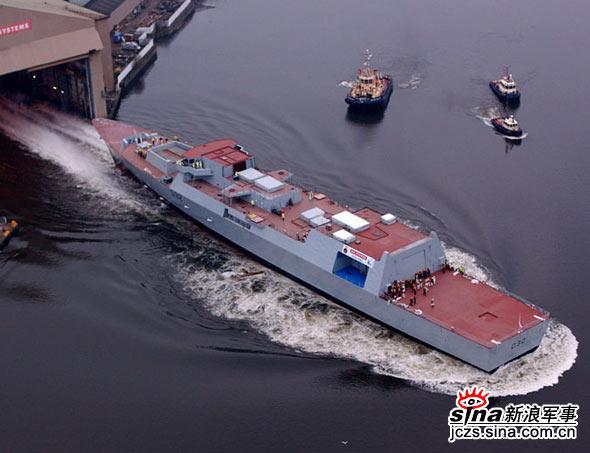 英国海军45型驱逐舰超猛火力让美国人震惊(图)
