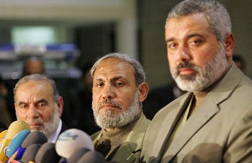 哈马斯领导人:以色列军队撤走就停止武装斗争