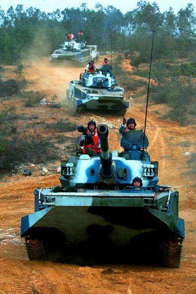 媒体透露我军两栖装甲团换装后出现的问题(图)