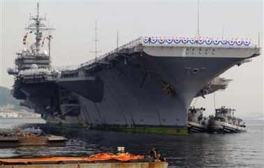 美四航母将齐聚太平洋军演规模为越战以来之最