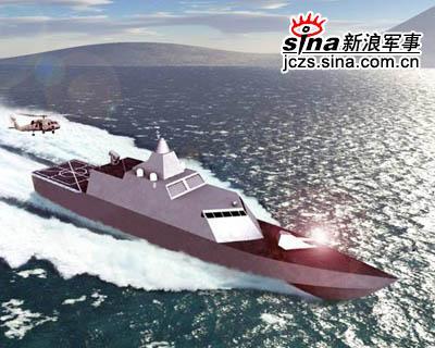21世纪海战新宠:美国海军建造濒海战斗舰(图)