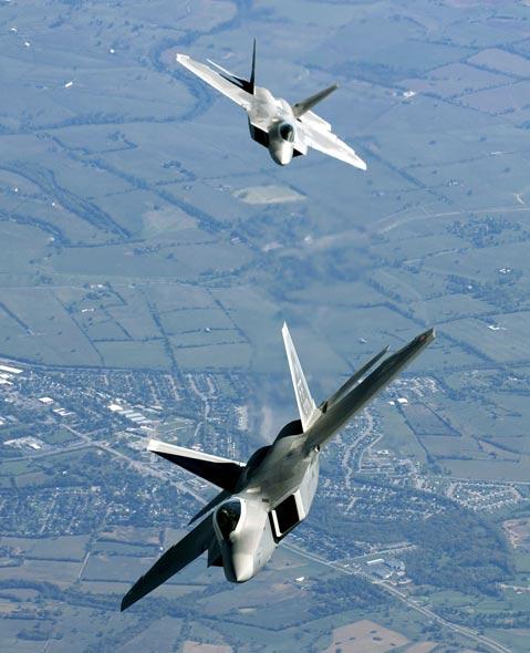 美空军作战司令称F-22A战备飞机约为126架(图)