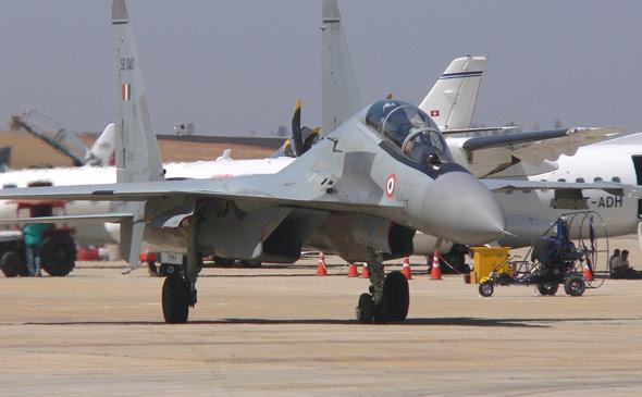印度军方怀疑本国组装的苏-30战机有质量隐患