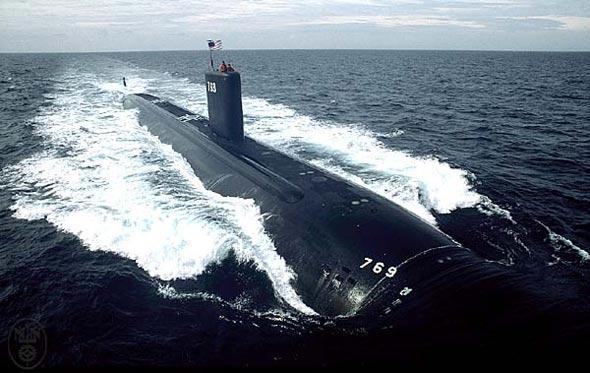 美4年内将把6成核攻击潜艇调至太平洋港口(图)