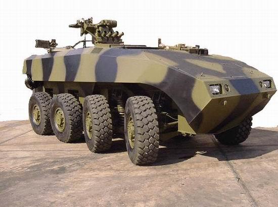 """新加坡研制""""特拉克斯""""AV81装甲步战车(附图)"""