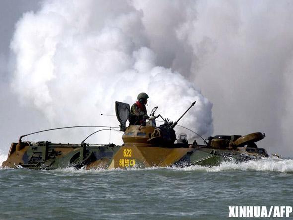 战时驻韩美军将打击中国东部军事战略设施(图)