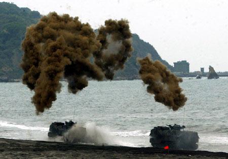 解放军特种部队练斩首台湾当局严密保护陈水扁