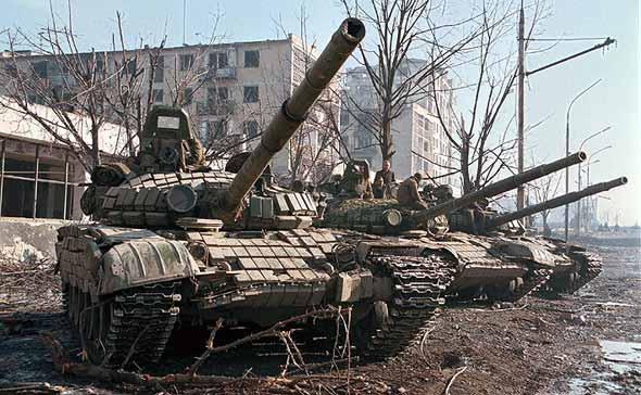 俄停止生产T-72坦克主要进行现代化翻新改装