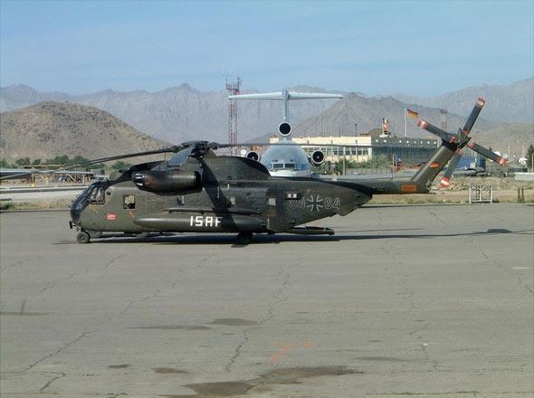 德国陆军CH53直升机将装备现代化通信系统(图)