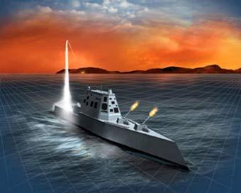 巴斯钢铁公司获DD(X)驱逐舰过渡型设计追加合同