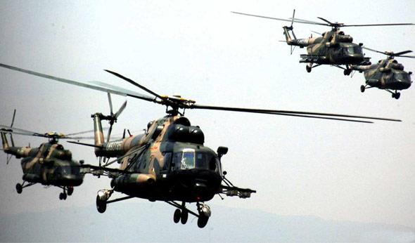 中国陆航已具备搭建战时跟进伴随保障平台能力
