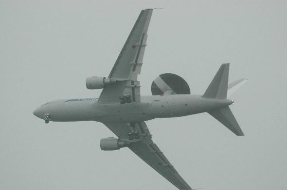 日航空自卫队将从美国购买空中预警机设备(图)