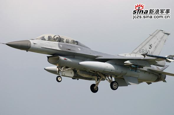 台湾空军将升级F-16战斗机软件和硬件(附图)