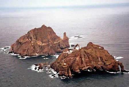 日韩本月内将重开独岛海域分界线问题协商(图)