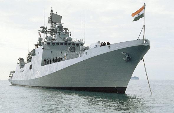 印度海军计划出6.65亿购买俄隐身护卫舰(图)