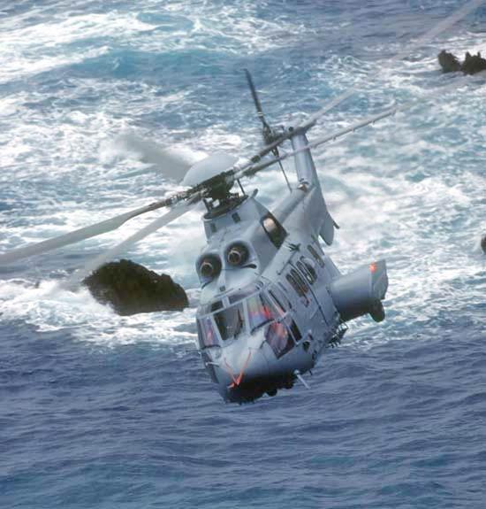 法国空军EC725直升机服役用于搜索援救(图)