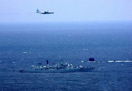 外军演习频邀中国反映解放军国际地位提升(图)
