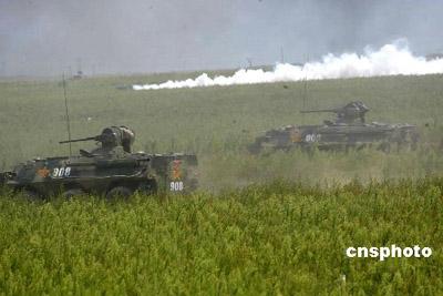 中俄两国将于明年进行联合反恐军事演习(组图)