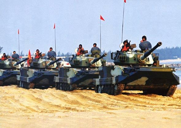 中国军事专家参与基层部队实兵对抗演练(图)