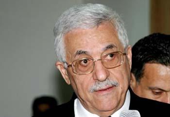 阿巴斯呼吁各派停止从加沙地带向以发动火箭袭击